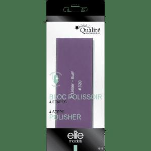 Buy Elite Models (France) 4 Step Block Nail Filer for Polish - Nykaa