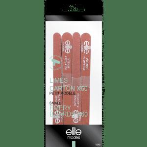Buy Elite Models (France) Small Nail Filer Emery Board (60 pc Set) - Nykaa