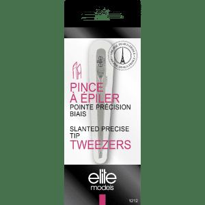 Buy Elite Models (France) Slanted Precise Tip Tweezer Plucker - Nykaa