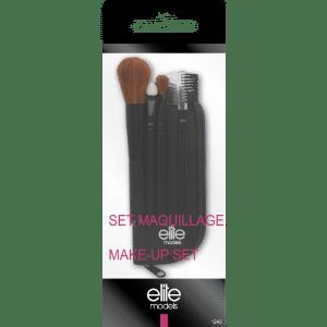 Buy Elite Models (France) 5 pc Makeup Brush Applicator Combo Set - Nykaa