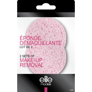 Buy Elite Models (France) Makeup Removal Puff Sponge (2 pc Set) - Nykaa