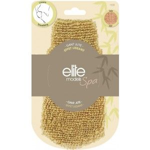 Buy Elite Models (France) Spa Jute Loofah Body Scrubber Glove for Smoothing - Nykaa