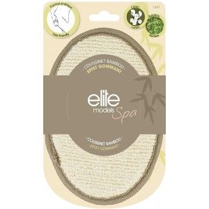 Buy Elite Models (France) Spa Bamboo Loofah Body Scrubber Pads - Nykaa