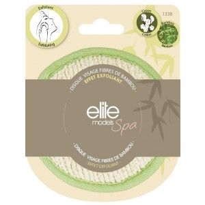 Buy Elite Models (France) Spa Bamboo Fibers Loofah Face Scrubber Pads - Nykaa