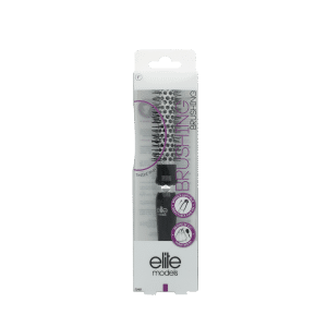 Buy Elite Models (France) Stylish Round Hair Brush - Black - Nykaa
