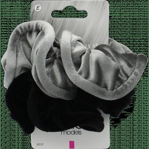 Buy Elite Models (France) Fashion Ponytail Hair Scrunchies (2 pc Set) - Multi - Nykaa