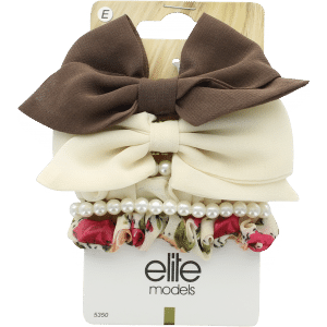Buy Elite Models (France) Designer Hair Jewellery Clips (6 pc Set) - Brown - Nykaa