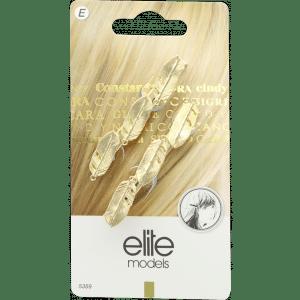 Buy Elite Models (France) Designer Hair Jewellery Side Clips (2 pc Set) - Gold - Nykaa