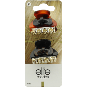 Buy Elite Models (France) Designer Hair Jewellery Butterfly Clips  - Brown - Nykaa