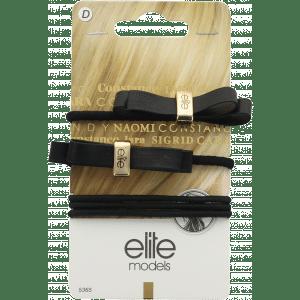 Buy Elite Models (France) Designer Hair Jewellery Ponytail Bands (5 pc Set) - Gold - Nykaa