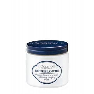Buy L'Occitane Reine Blanche Whitening Sleeping Mask - Nykaa