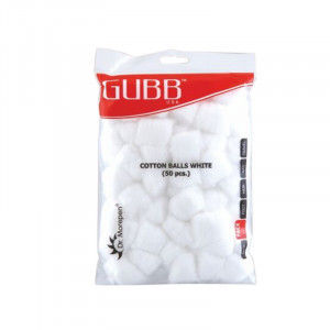 Buy Herbal GUBB USA Cotton Balls 50's - Nykaa