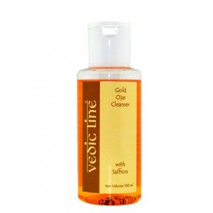 Buy Vedic Line Gold Ojas Cleanser With Saffron - Nykaa