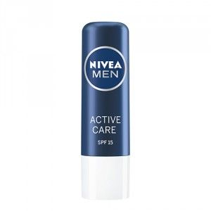 Buy Nivea For Men Active Care Lip Balm - SPF 15 - Nykaa