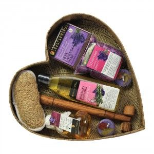 Buy Soulflower Heart With Lavender Bath Set - Nykaa