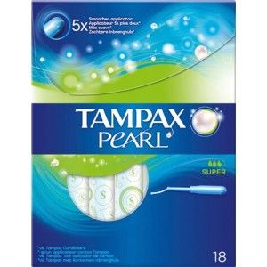 Buy Tampax Pearl Super Applicator Pack Of 18 - Nykaa