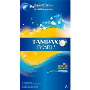 Buy Tampax Pearl Regular Applicator Pack Of 8 - Nykaa