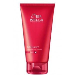 Buy Wella Professionals Brilliance Conditioner For Colored Hair  - Nykaa