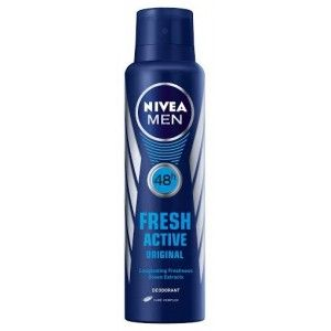 Buy Nivea Fresh Active Original Spray For Men  - Nykaa