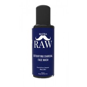 Buy Matra Detoxifying Charcoal Face Wash For Men - Nykaa