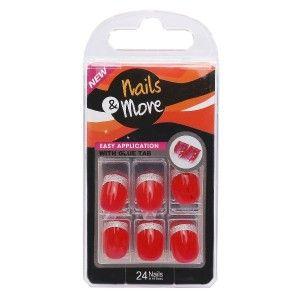 Buy Nails&More Press On Nails Sen107 - Nykaa