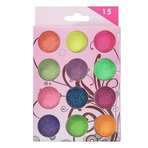 Buy Nails&More Nla-6 Glitter Set (12Pc) - Nykaa