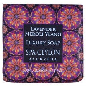 Buy Spa Ceylon Luxury Ayurveda Lavender Neroli Ylang Luxury Soap - Nykaa