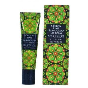 Buy Spa Ceylon Luxury Ayurveda Ceylon Lime & Avocado Lip Balm - Nykaa