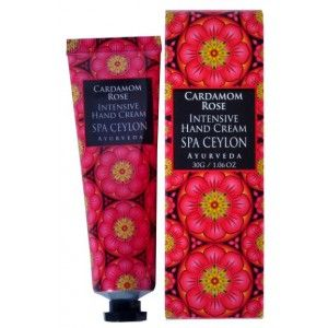 Buy Spa Ceylon Luxury Ayurveda Cardamom Rose Intensive Hand Cream - Nykaa