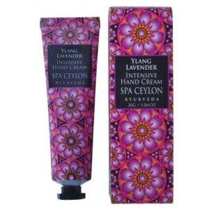 Buy Spa Ceylon Luxury Ayurveda Ylang & Lavender Intensive Hand Cream - Nykaa