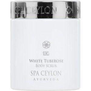 Buy Spa Ceylon Luxury Ayurveda White Tuberose Body Scrub - Nykaa
