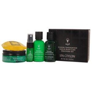 Buy Spa Ceylon Luxury Ayurveda Sensual Sandalwood Bath Body Care Discovery Set - Nykaa