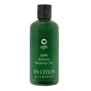 Buy Spa Ceylon Luxury Ayurveda Love Sensual Massage Oil - Nykaa