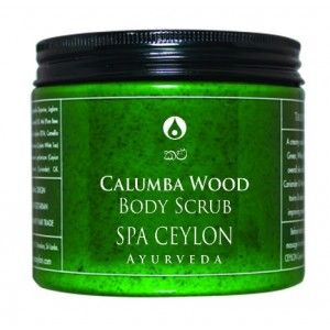 Buy Spa Ceylon Luxury Ayurveda Calumba Wood Body Scrub - Nykaa