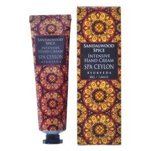 Buy Spa Ceylon Luxury Ayurveda Sandalwood Spice Intensive Hand Cream - Nykaa