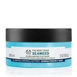 Buy The Body Shop Seaweed Oil-Balancing Clay Mask - Nykaa