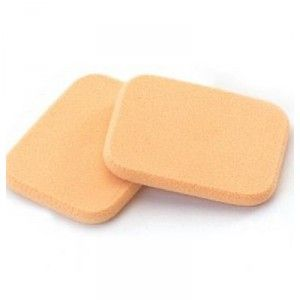 Buy Basicare NBR Foundation Sponge Rectangle - Pack of 2  - Nykaa