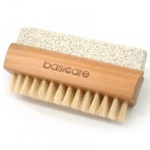 Buy Basicare Nail brush With Pumice Stone - Nykaa