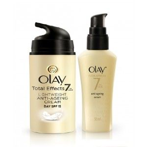 Buy Olay Total Effects Light Weight SPF 15 Day Cream Serum Regime I - Nykaa