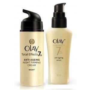 Buy Olay Total Night Firming Cream Serum Regime I - Nykaa