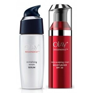Buy Olay Regenerist Micro-Sculpting SPF30 Cream Revitalizing Serum Regime - Nykaa