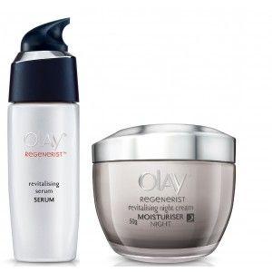 Buy Olay Regenerist Revitalizing Night Cream Revitalizing Serum Regime - Nykaa