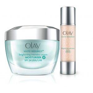 Buy Olay White Radiance Advanced Whitening Intensive Cream Serum Regime - Nykaa