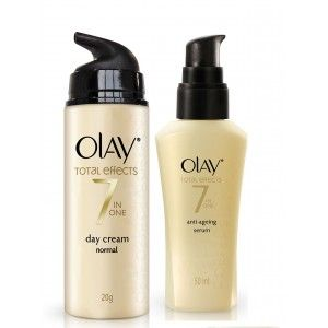 Buy Olay Total Effects Normal Day Cream Serum Regime I - Nykaa