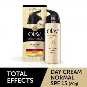 Buy Olay Total Effects 7 In One Anti-Ageing Day Cream Normal SPF 15 - Nykaa