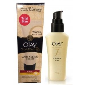 Buy Olay Total Effects Normal Day SPF15 Cream Serum Regime II - Nykaa