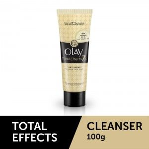 Buy OlayTotal Effects 7 In One Anti-Ageing Foaming Face Wash - Nykaa