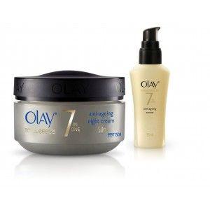 Buy Olay Total Night Firming Cream Serum Regime II - Nykaa