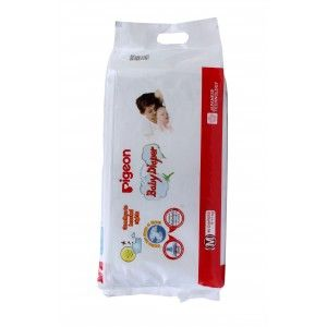 Buy Pigeon Baby Diaper M Size - Nykaa