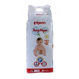 Buy Pigeon Baby Diaper L Size - Nykaa